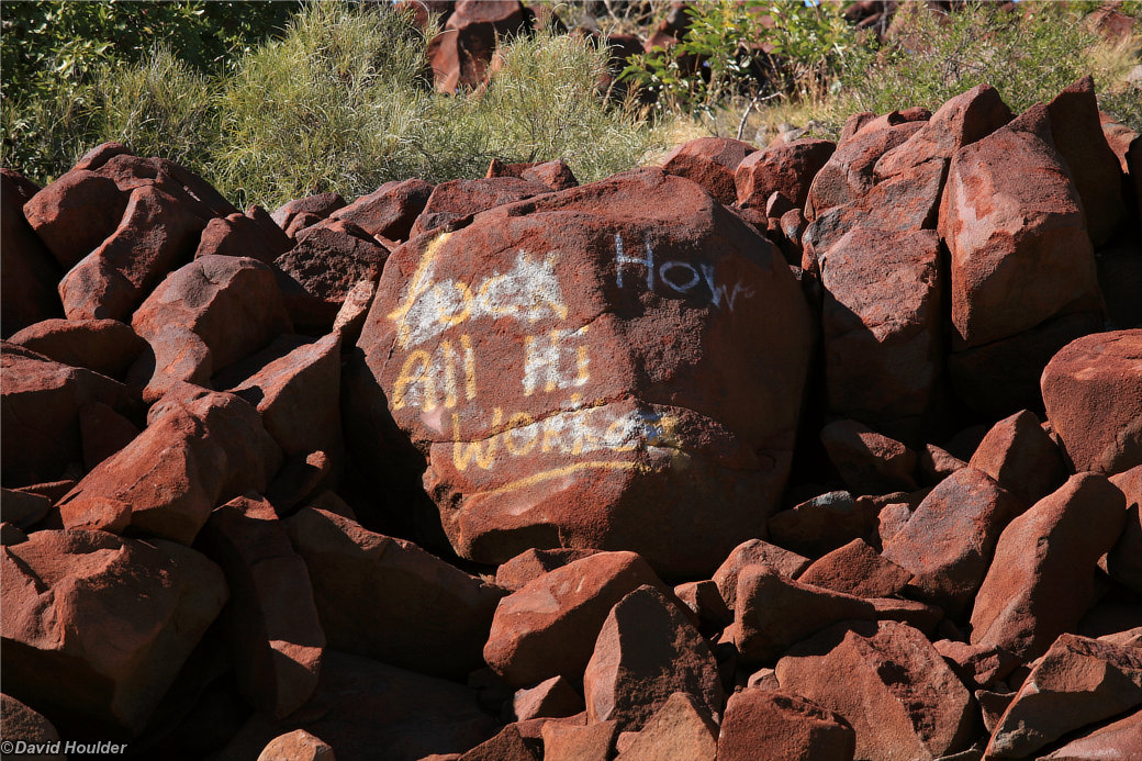Burrup Peninsula rock art #2