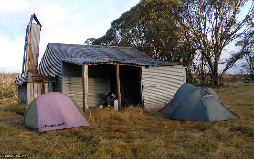 Camping at Bradley's Hut