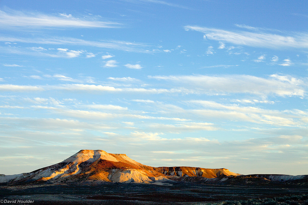Mount Arckaringa at sunset