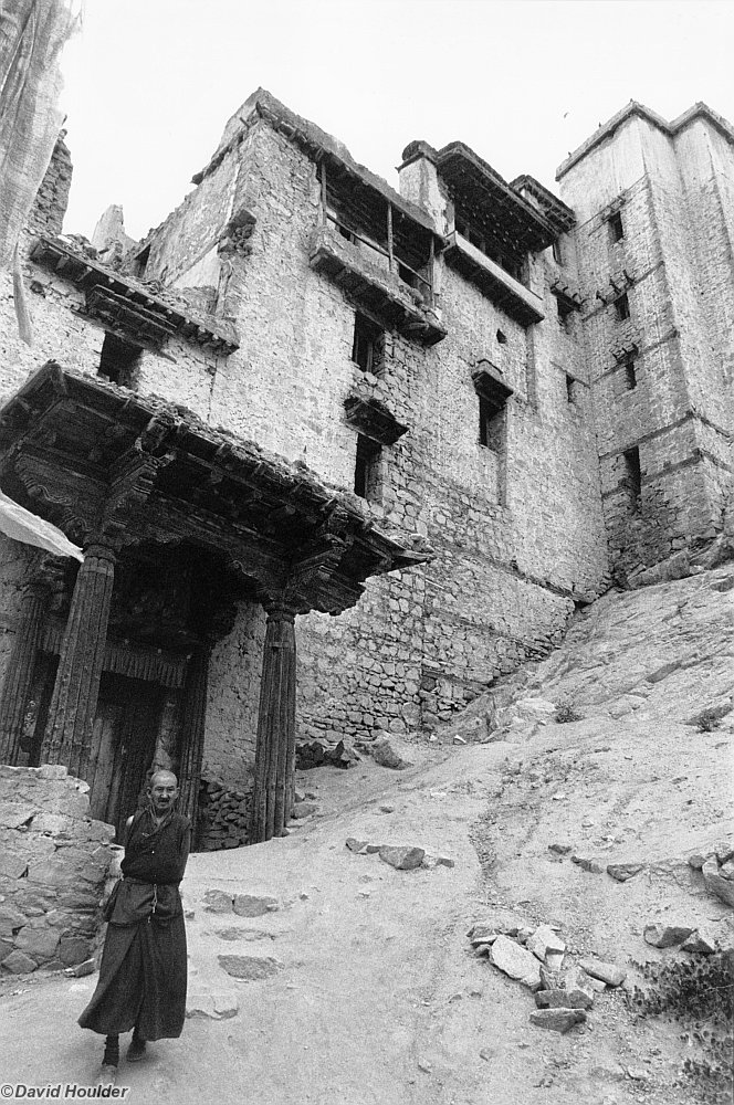 Monk at Leh Gompa, 1987