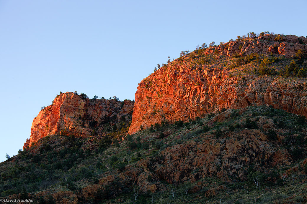 Arenge Bluff from campsite