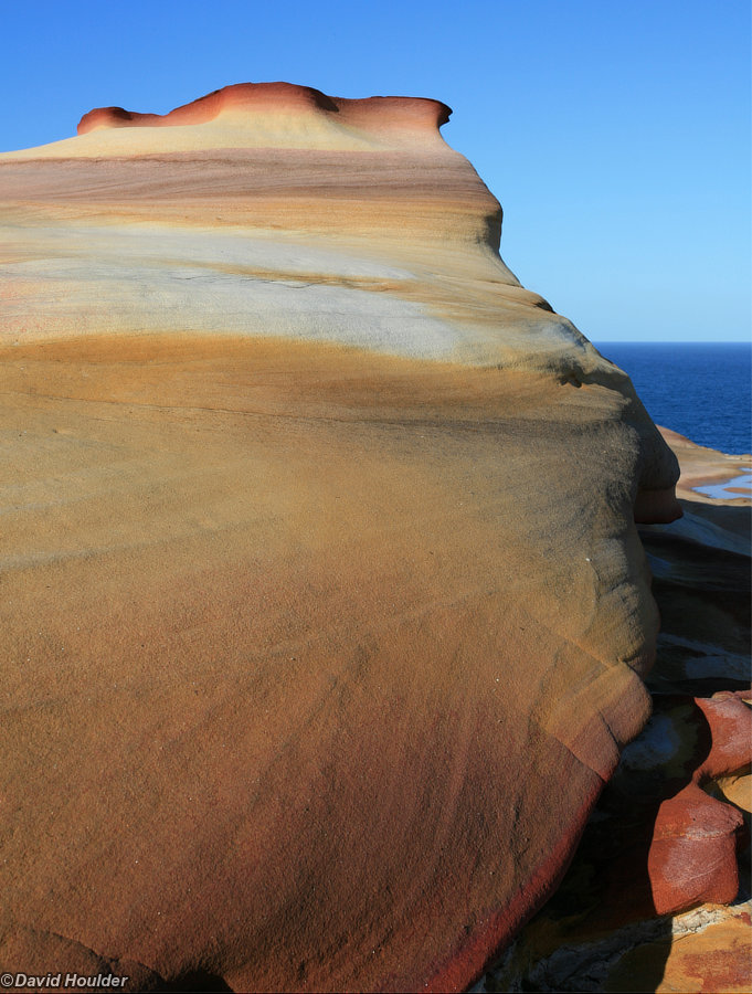 Weathered sandstone