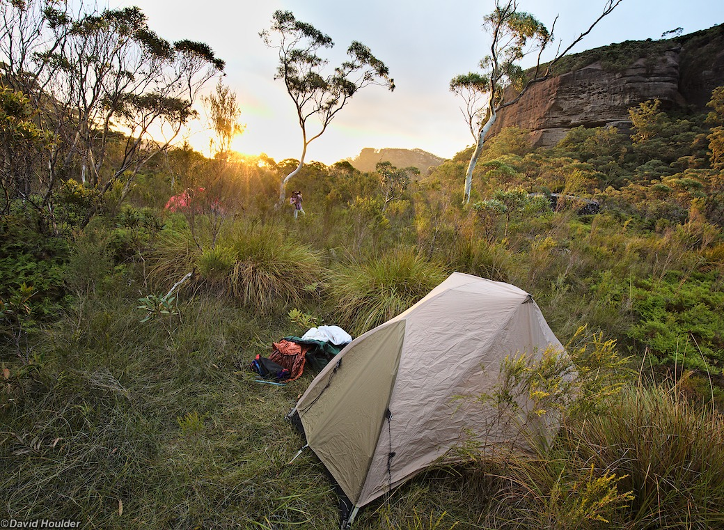 Camping at Burrumbeet brook