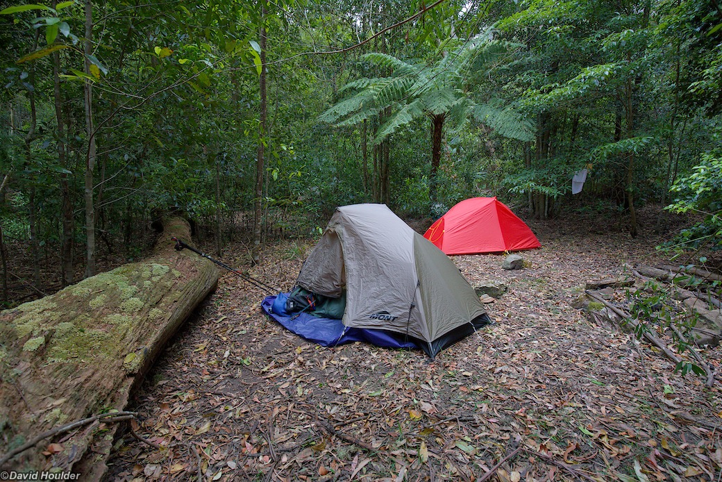 Campsite in Hollands Gorge